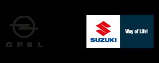 Suzuki und Opel