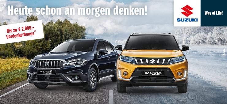 Suzuki Vordenkerbonus bis zu € 2.000,- sparen